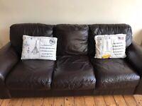 FREE - 3 + 2 Seater Leather Sofa