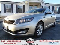 2012 Kia Optima EX+ $112.16 BI WEEKLY!!!