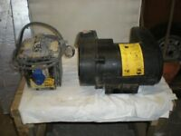 Belle cement mixer motor and RCD unit