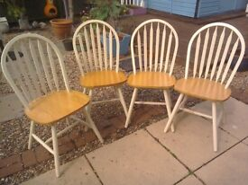 Set 4 kitchen chairs