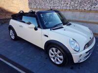 MINI ONE CONVERTIBLE PEPPER WHITE