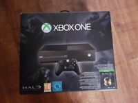 BOXED XBOX ONE WITH PAD AND LEADS MAY SWAP WITH PS4