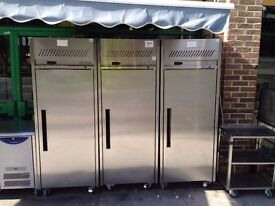 CATERING COMMERCIAL UPRIGHT FREEZER CAFE KEBAB CHICKEN TAKE AWAY RESTAURANT BBQ KITCHEN BAR PUB SHOP