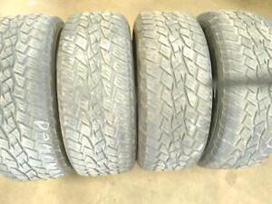 275/55R20X4 TOYO OPEN COUNTRY USED FOR SALE