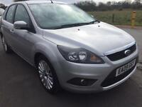 SALE! Bargain Ford Focus titanium 1.6 tdci 107, long MOT full service history