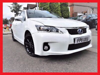 2011 Lexus CT 200H 1.8 SE-I CVT -- 77000 Miles -- WHITE & Nice -- Part Exchange OK -- Lexus CT 200 H