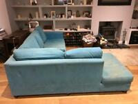 Blue Corner Sofa from Sofaworkshop