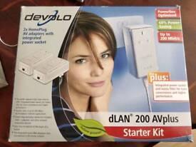 dLAN AVplus WIFI extender