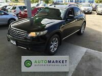 2007 Infiniti FX35 AWD, LEATHER, MOONROOF, WARRANTY