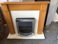 GORGEOUS ELECTRIC FIRE LIKE NEW