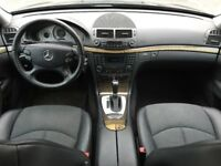 LHD LEFT HAND DRIVE MERCEDES E200 CDI 2.1 AUTOMATIC 2006 FACELIFT BLACK AVANTGARDE WARRANTY PART EX