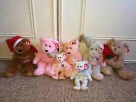Ty Holiday bears