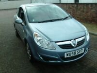 2008 58 VAUXHALL CORSA 1.4 CLUB 3DOOR ** FULL GLASS ROOF ** LOW MILEAGE ** 12 MONTH MOT ** VERY TIDY