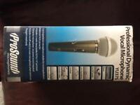 Prosound wired microphones