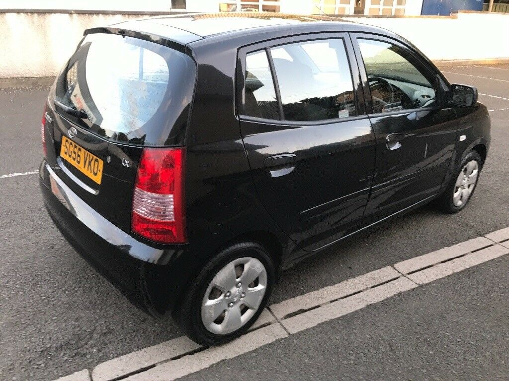 2006 kia picanto lx 1 0l 5 door hatchback manual petrol service history one year mot in. Black Bedroom Furniture Sets. Home Design Ideas