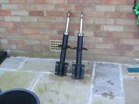 Pair of fiat Ducato suspension legs