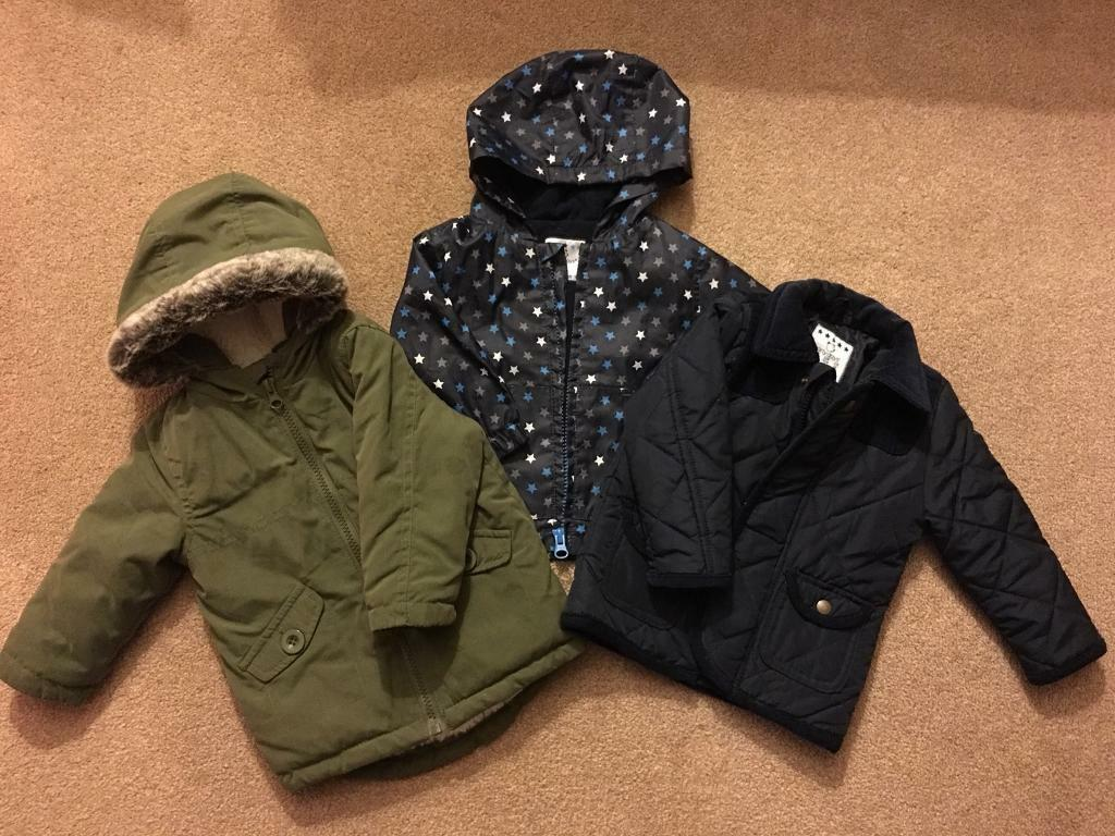 Boys winter coats 6-9 Months