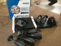 ANNKE Dvr & 4 cameras KARE Dvr 2 cameras