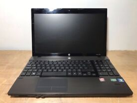 FAST HP ProBook 4525s Windows 7 Laptop, AMD Phenom 2 2.6 GHz, 4GB, 500GB HDD