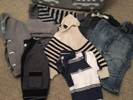 Baby boys clothes bundle 9-12mths