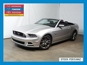 2014 Ford Mustang GT+BREMBO PACK+V8+5.0L+CUIR+A/C+CONVERTIBLE