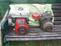 Honda G 200 Engines for Rotavator, Tiller, Lawnmower, (Spares or Repair)
