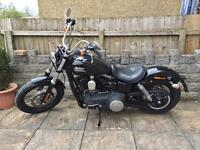 Harley Davidson Dyna street bob 2016