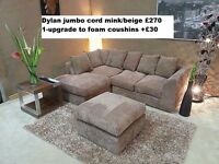 BRAND NEW CORNER & 3+2 SEATER AVAILABLE IN DIFFERENT COLOURS