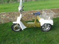 ariel 3 trike moped classic 1973 mot v5