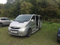 2011 Vauxhall Vivaro campervan for sale