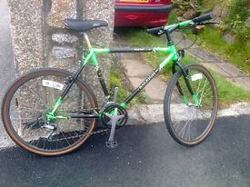 Classic Reynolds 531 mountain bike