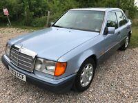 Mercedes 230E 2299cc Petrol Automatic 4 door saloon K Reg 15/10/1992 Blue