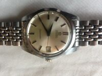 Vintage Omega Seamaster 1960s Automatic Cal 562 Rice bracelet 35mm Mens watch