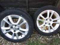 wheels and tyres for vauxhall corsa d