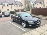 Audi A8 08 TDI S QUATTRO LONG MOT EXCELLENT CONDITION. Bmw. Mercedes. Volvo. Ford for sale  Aberdeen