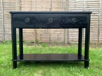 Laura Ashley Henshaw 3 Drawer Console / Hallway Table in Super Condition - RRP £525