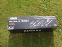 Titan garden petrol multi tool for sale