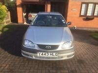 Toyota Avensis 1.8 70k (35k on new engine) no advisories mot
