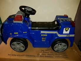 Paw patrol Chase ride in battery car toys