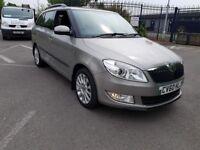 2010 SKODA FABIA ESTATE 1.6 DIESEL ELEGANCE CR 105 LOW MILEAGE SUPERB CAR NOW WITH £200 OFF AT 4395