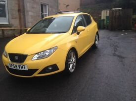 09 SEAT IBIZA 1.6 TDI , IMMACULATE CONDITION , FULL SERVICE HISTORY