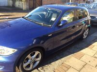 BMW 1 series, auto, LOW MILEAGE lady Owner excellent condition