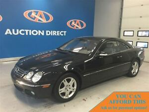 2005 Mercedes-Benz CL-Class 5.0L, Low Low Kms! FINANCE NOW!