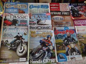 Motor Cycle mags.