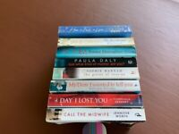 Bundle of paperback books excellent condition