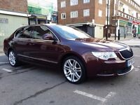 Skoda Superb 2.0 CR 125kw/170 HP,55mpg,self parking system,fully loaded,70kmiles, perfect condition,