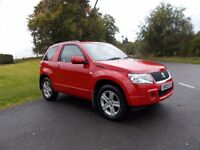 2009 09 suzuki vitara 1.6 vvt+ 3 door manual 4x4 mot october 2017