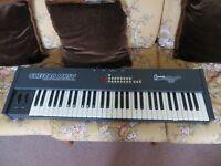 A VINTAGE CLASSIC RARE NICE 1980S CHEETAH MK5II MIDI KEYBOARD SPECTRUM SOUND MINT