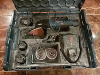 Bosch 10.8V-LI Multi-Cutter / Multi tool with 4 x 1.5Ah Li-Ion Batts