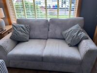 Corner couch and 2 seater sofa